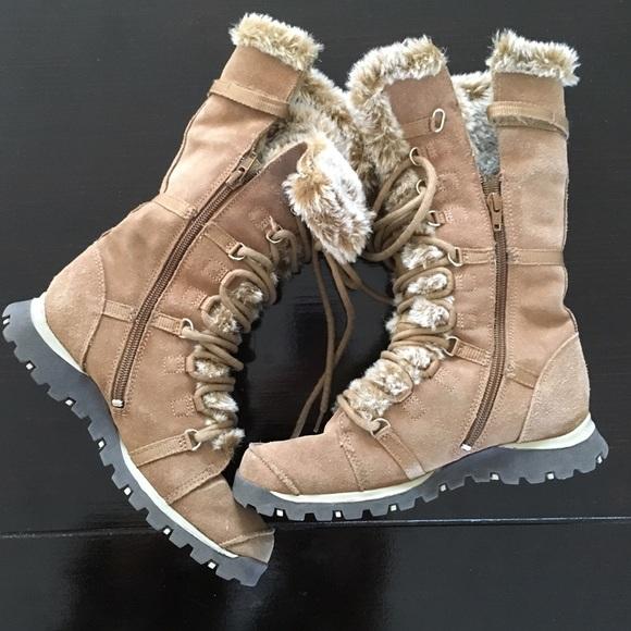 bf20e4a2804c8 Skechers Grand Jams Lace Suede Fur Winter Boots. M_56d3ea416d64bc1432068044