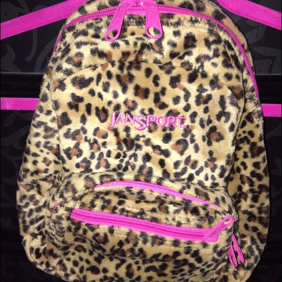f3c10361c402 Jansport mini backpack leopard print 💕🔥