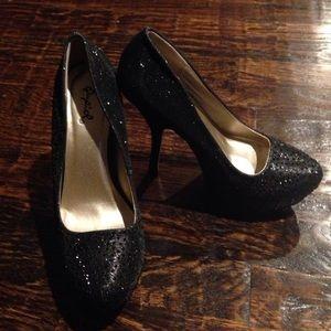 Like New Gorgeous Black Heels