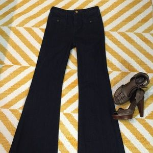 Pilcro high waisted flared jeans