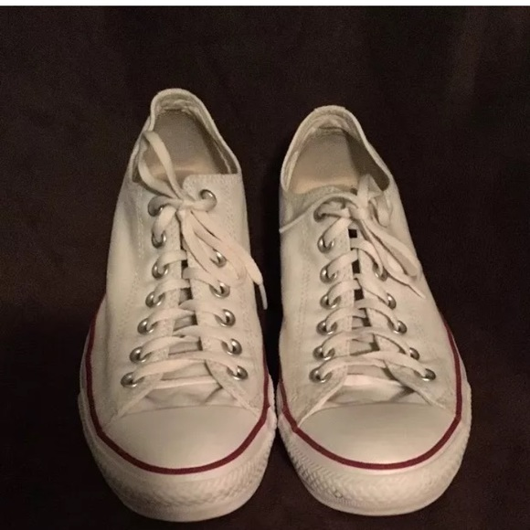 9cce68eeb46d07 Converse Shoes - White Converse size 11 women s