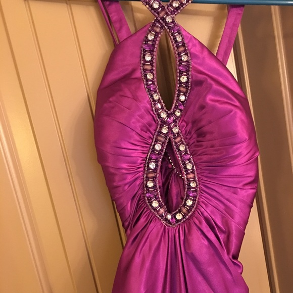 Dresses & Skirts - Just in time for PROM! Beautifully jeweled gown!