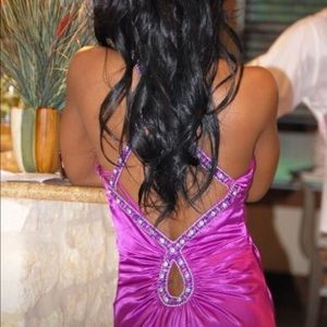 Dresses - Just in time for PROM! Beautifully jeweled gown!