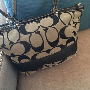Coach Bags - SOLD! Black Coach bag-marked LOW!