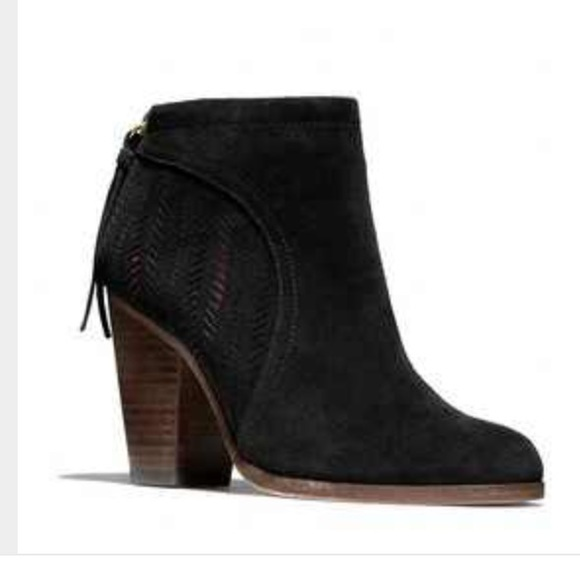 82 coach shoes coach black suede honey booties from