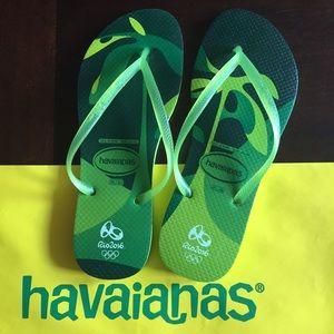 551f6e1f6e2 Havaianas Shoes - RARE Rio 2016 Summer Olympics Havaianas Flip Flops