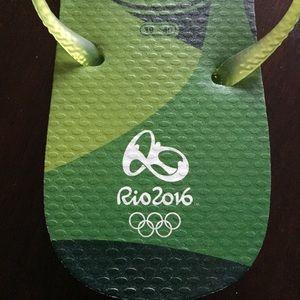 713408949 Havaianas Shoes - RARE Rio 2016 Summer Olympics Havaianas Flip Flops
