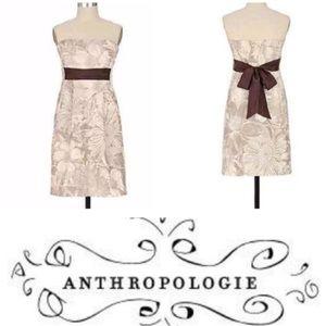 ❣️Final Sale❣️Anthro Maeve Strapless Floral Dress