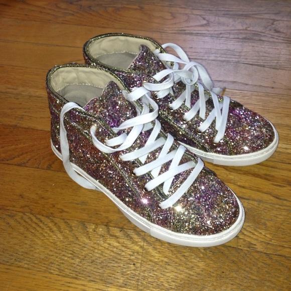 f53913bf447 Steve Madden all glitter sneaker
