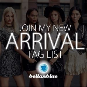 NEW ARRIVAL TAG LIST