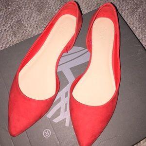 Shoes - Orange flats