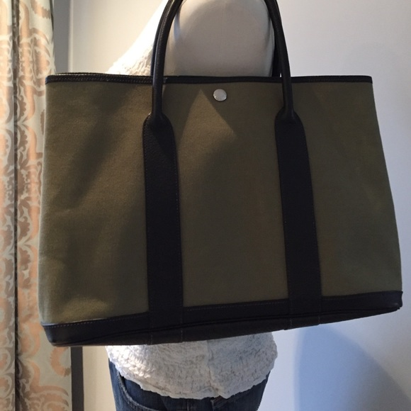 cc8dd16c5 Hermes Bags | Garden Party Mm Tote Authentic Price Firm | Poshmark