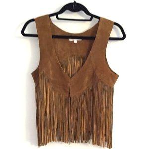 LaRok Jackets & Blazers - 🎉HP🎉LaRok Suede Fringe Vest