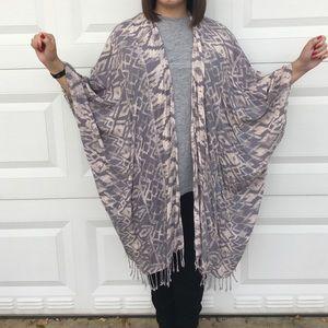 Cotton On tribal print kimono