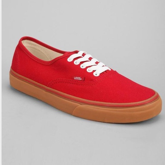 45c7d3f3fc69f5 Men s Vans Authentic Gumsole Chili Pepper Sneakers.  M 56d4b8c2bcd4a7d621076637
