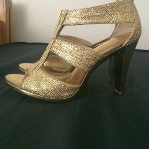 b3a4e51966abb MICHAEL Michael Kors Shoes - Michael Kors Berkley T-Strap Evening Sandals
