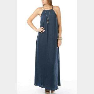 ANGL Dresses & Skirts - Navy Blue Maxi Dress