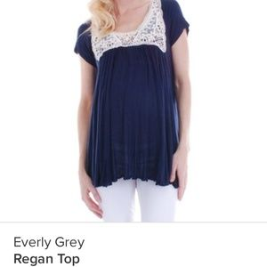 Everly Grey Tops - Maternity Top, Everly Grey