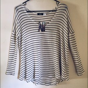 Urban Outfitters long striped shirt