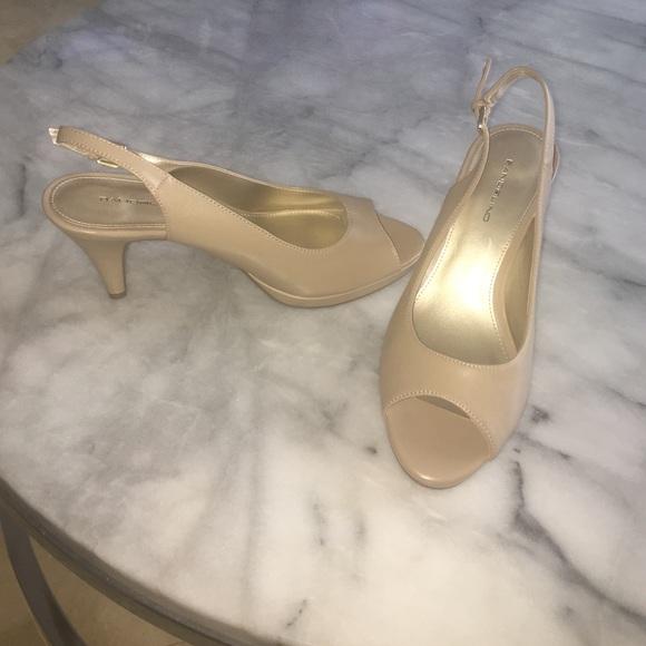 Bandolino Shoes | Nude Bandolino Peep