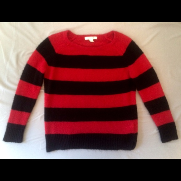 9e409dde6 Forever 21 Sweaters | Grunge Striped Sweater Just Like Kurt Cobain ...