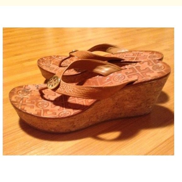 Tory Burch Thora Wedge Sandals cheap nicekicks A1wWAH