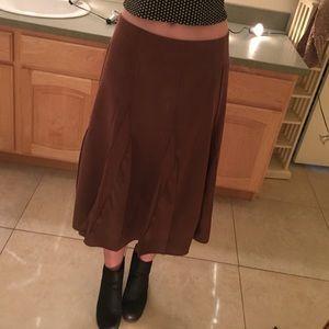 70s style midi skirt