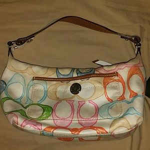 Authentic Coach clutch bag wristlet