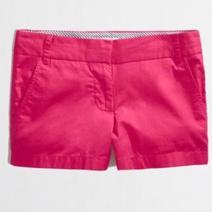 J Crew Factory hot pink shorts size 2