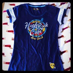 Hard Rock Cafe Tops - Hard Rock Cafe New York T-shirt e64b8572758