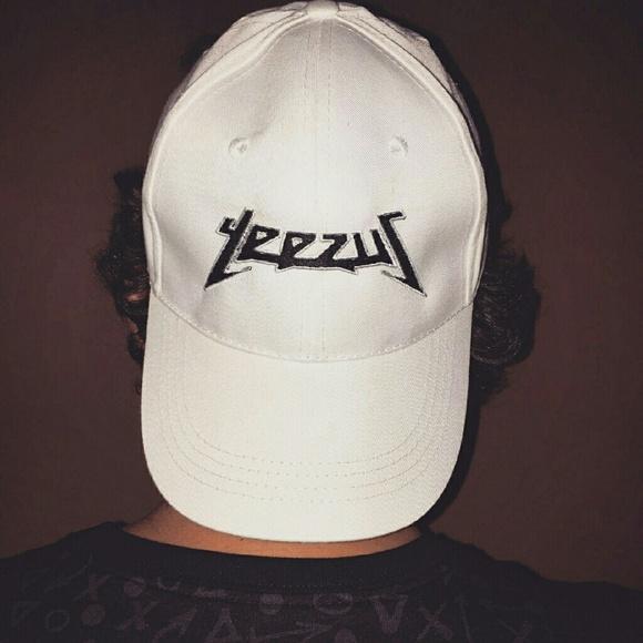 f5d837a863462 handmade Accessories - White Yeezus Kanye West Hat Yeezy boost 350