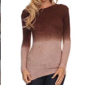 Sweaters - Cocoa Ombré Sweater
