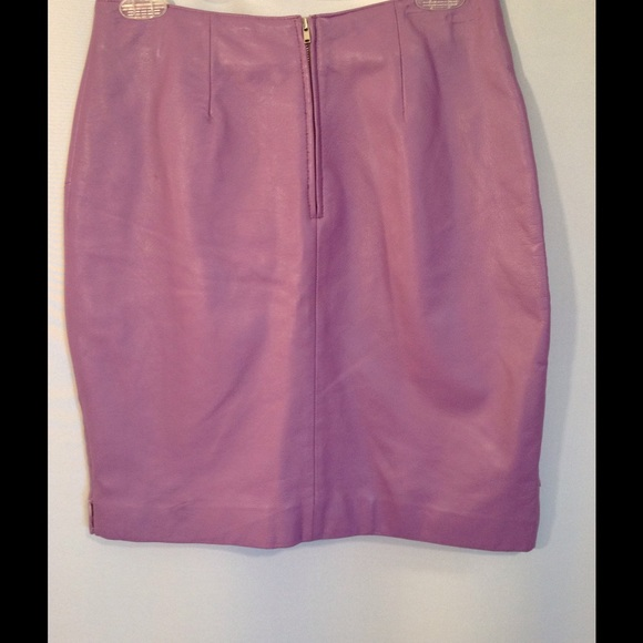 Wilsons Leather - 🎀Lilac Leather Skirt from Stefanie - cru ...