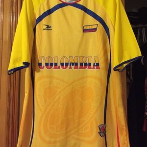Colombia soccor shirt
