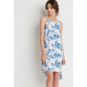 Forever 21 Dresses & Skirts - Floral Print Crepe Tunic