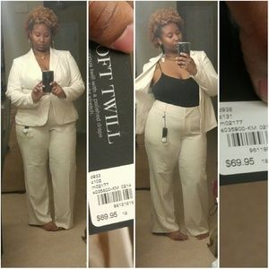 f4a5d6423 Lane Bryant Other | Sold Beautiful Cream Colored Pant Suit | Poshmark