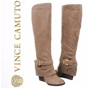62% off Vince Camuto Boots - Brand new Vince Camuto Bedina leather ...