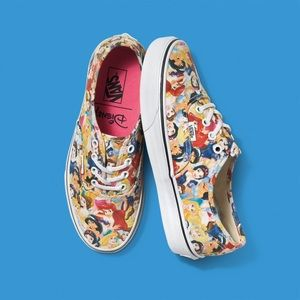 3c21a92423 Women s Disney Princess Vans on Poshmark