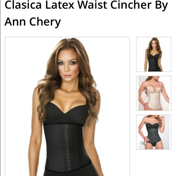 d3a8adafabc Ann chery Other - CLASICA LATEX WAIST CINCHER BY ANN CHERY 2025