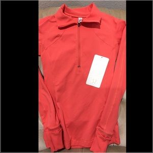 Lululemon Race with grace half zip size 2