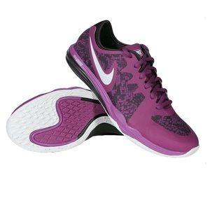 Nike Shoes - Nike purple/black sneakers
