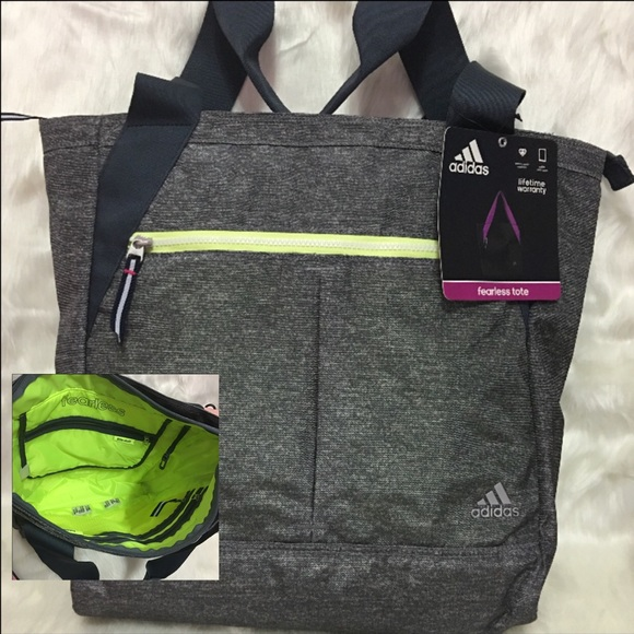 fab9c52c91f8 Adidas Fearless Sporty Tote Bag