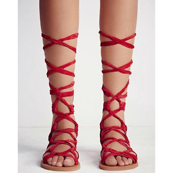 Mid Suede Gladiator Sandals | Poshmark
