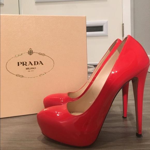 cbcbaae7989af Prada Bright Red Patent Leather Pumps. M_56d52512b4188e183f00902f