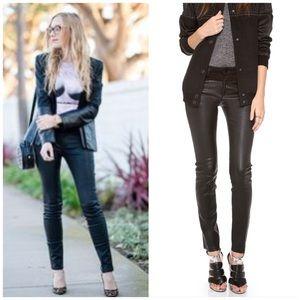 Joe's Jeans Pants - Joe's Leather Moto Pants