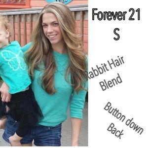 F21 Rabbit hair blend sweater small
