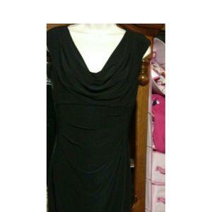 Ralph Lauren black sleeveless dress