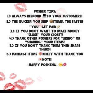 Tips For Poshers!!!!