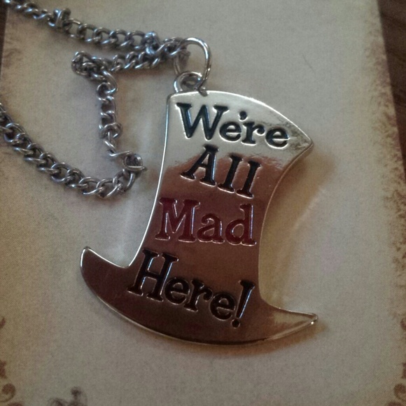 fairytale mad hatter pendant necklace from charmed s