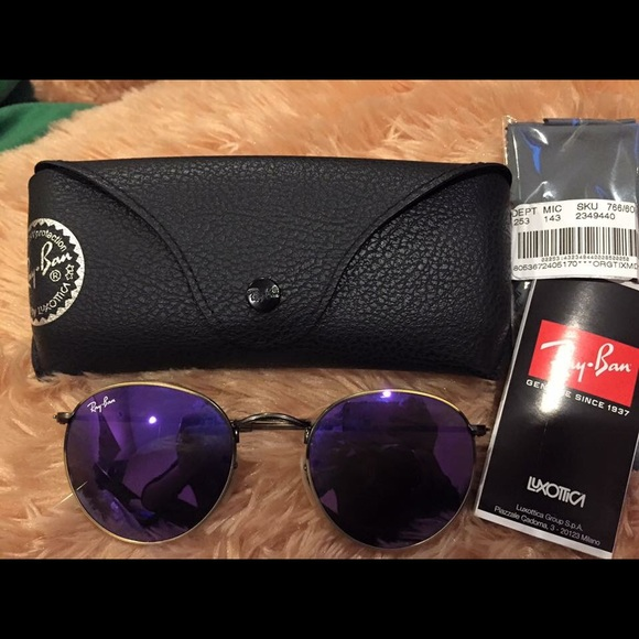 8169bc05cf2d Bought from Dillard s Never use this Rayban round